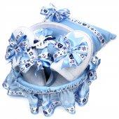 Erkek Bebek Takı Yastığı Seti