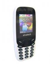 Alcatech M10 Tuşlu Cep Telefonu Beyaz