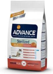 Advance Sterilised Somonlu Kısırlaştırılmış Kedi Maması 3 Kg