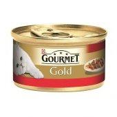 Gourmet Gold Parça Etli&soslu Sığır Etli Kedi Maması 85gr(6 Adet)