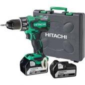 Hitachi Dv18dbsl 5.0ah Li İon Çift Akülü Kömürsüz Darbeli Matkap