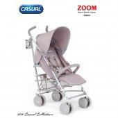 Casual Zoom Baston Puset Bebek Arabası Krem