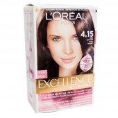 Loreal Paris Excellence Creme Saç Boyası 4.15 Türk...