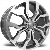 Emr 5321 04 8,0x18 Pcd 5x112 Et45 Dark Grey Polished Jant(4 Adet)