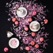 Jumbo Pink 2li Kahve Fincani Seti