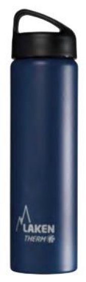 Laken İspanya Üretimi Çelik Klasik Termos Şişe 0,75l Mavi Lkta7