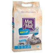 Mırmır Multicat Topaklanan Kedi Kumu 2x10 Lt %100 Doğal Parfümsüz