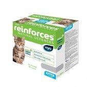 Viyo Reinforces Kitten Yavru Kediler İçin Gıda Takviyesi 7 X 30 Ml