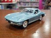 Metal Model Araba Newray Chavrolet Corvette 1966 1 32 Ölçek