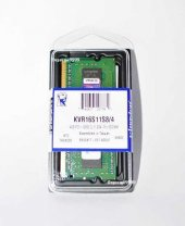 Kıngston (Kvr16s11s8 4g) 4 Gb Ddr3 1600 Mhz Kıngston Cl11 Notebook