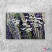 Vazodaki Çiçekler 12, Renkli Çiçekler Kanvas Tablo...