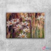 Vazodaki Çiçekler 11, Renkli Çiçekler Kanvas Tablo Art Tablo