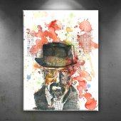 Breaking Bad Wwhite Dekoratif Canvas Tablo