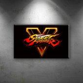 Street Fighter V Popüler Kültür Dekoratif Kanvas T...