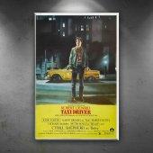 Retro Eski Poster Taxi Driver Robert De Niro Film ...