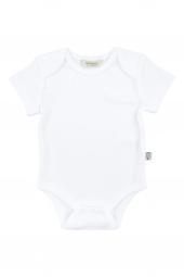 Basic Beyaz 3lü Bebek Body Seti Organic Kid