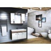 Emart Deco 100 Cm Lüx Banyo Dolabı