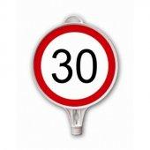 Azami Hız 30 Km Uyarı Levhası