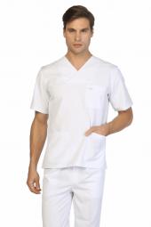 Tipmod Doktor Hemşire Forması Erkek 125 B Tek Üst Zarf Yaka Forma