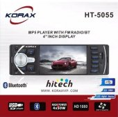 Korax Ht 5055 Usb Radio Aux Sd Card Mp5 Çalar Oto ...