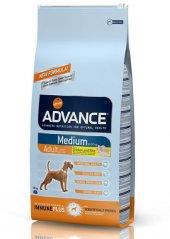 Advance Medium Adult Yetişkin Tavuklu Köpek Maması 14 Kg