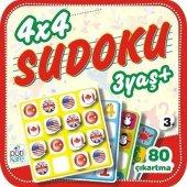 Pötikare Yayıncılık 4x4 Sudoku 3+ Yaş 3.kitap