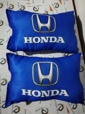 Honda Boyun Yastığı Mavi Kumaş