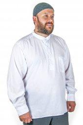 Pamuklu Gömlek Beyaz