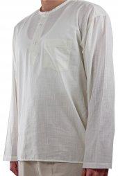 Hac Umre Kıyafeti Gömlek Krem