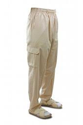 Hac Umre Kıyafeti Şalvar Pantolon Krem