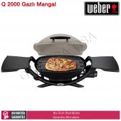 Weber Q2000 Titan Gazlı Mangal