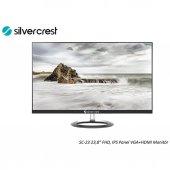Silver Crest Sc 23 1080p Full Hd Ips Panel Vga+hdmı Monitör