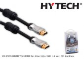 Hytech Hy P565 Hdmı To Hdmı 3m Altın Uçlu 24k 1.4 Ver. 3d Kablosu