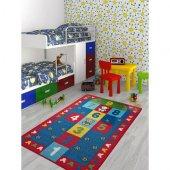 Ana Sınıfı Ve Çocuk Odası Halısı Seksek 5 Mm 150 X 210
