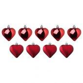 Ikea Yılbaşı Ağaç Dekoru Kalp Şeklinde Yılbaşı Ağaç Süsleri