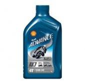 Shell Advance 4t Ultra 15w50 Tam Sentetik Motor Yağı