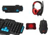 Rampage Tkz R0177 Klavye Mouse Kulaklık Gaming Oyuncu Set