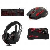 Rampage Tkz R55338 Klavye Mouse Kulaklık Gaming Oyuncu Set