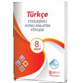 Türkçe 8.sınıf Etkileşimli Konu Anlatım Föyleri