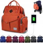 My Valice Smart Bag Happy Mom Usb Li Anne Bebek Bakım Ve Sırt Cantası
