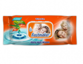 Freshmaker 72 Li Kapaklı Baby Wet Wipes Islak Havlu 24 Adet (1 Koli)