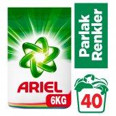 Ariel Parlak Renkler 6 Kg Renkliler İçin Toz Çamaşır Deterjanı