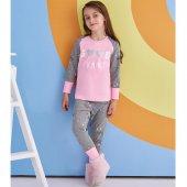 Rolypoly 1376 Kız Çocuk Pijama Takım