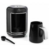 Kıng K605 Kısmet Gümüş Elektrikli Tam Otomatik Türk Kahve Makinesi