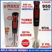 Raks Riva 950 Watt Çubuk Blender