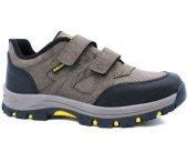 Sıdasa 370 Cırtlı Kışlık Erkek Spor Ayakkabı Siyah Vizon