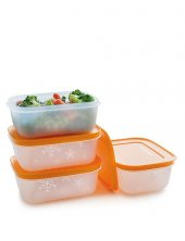 Tupperware Alaska 4' Lü Set