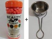 Beauty Hassas Ciltler İçin Boncuk Ağda 250 Gr Ve Saplı Isıtıcı Ce
