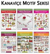 Kanaviçe Motif Serisi 6 Kitaplık Set