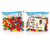 Eğlenceli Bloklar İpe Geçirmeli Plastik Eğitici Bl...